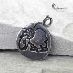 charms,srebro,oksyda,baranek - Charms - Biżuteria