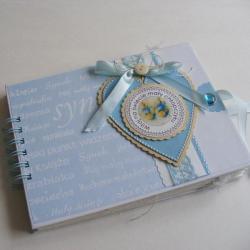 narodziny,chłopiec,upominek,prezent - Albumy - Akcesoria