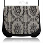 Na ramię stonowana torebka,subtelna,elegancja,beżowy,wzór