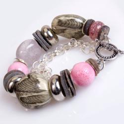 bransoletka,motyw węża - Bransoletki - Biżuteria