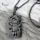 Wisiory wisior,anioł,art-clay,srebro