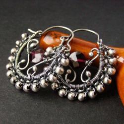 koronkowe,kobiece - Kolczyki - Biżuteria