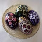 Inne Wielkanoc pisanka malowana woskiem