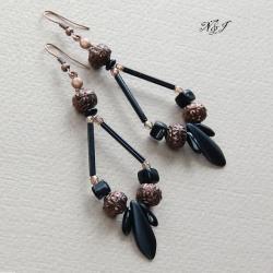 eleganckie,orientalne - Kolczyki - Biżuteria