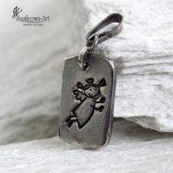 wisior,anioł,prezent - Wisiory - Biżuteria