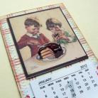 Notesy kalendarz,lodówka,zapiśnik,prezent,magnes