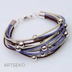 bransoletka sznurkowa - Bransoletki - Biżuteria
