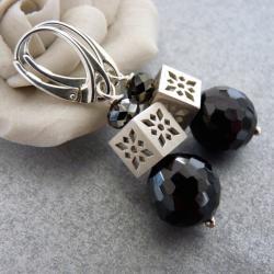 wieczorowe eleganckie kolczyki - Kolczyki - Biżuteria