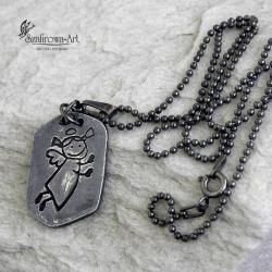 naszyjnik,anioł - Naszyjniki - Biżuteria