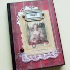 Notesy kalendarz,prezent,romantyczny,dama,nowy rok