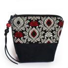 Portmonetki portfel,etui,prezent,alcantara,bawełna,ornamenty