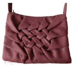 torebka,skóra ekologiczna,plecionka,na ramię - Na ramię - Torebki