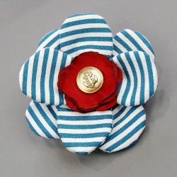 broszka,kwiatek,kobieca,na topie,modna - Broszki - Biżuteria